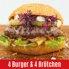 US Beef Steakhouse Burger and Bread