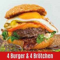 Morgan Ranch Wagyu Steakhouse Burger and Bread