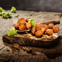 Walnuss Cheese Crunchy Balls | Vegetarisch