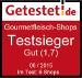 Testsieger bei Getestet.de