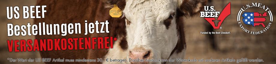 ab 30€ US Beef Versandkostenfrei