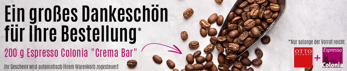 Kaffeeprobe gratis