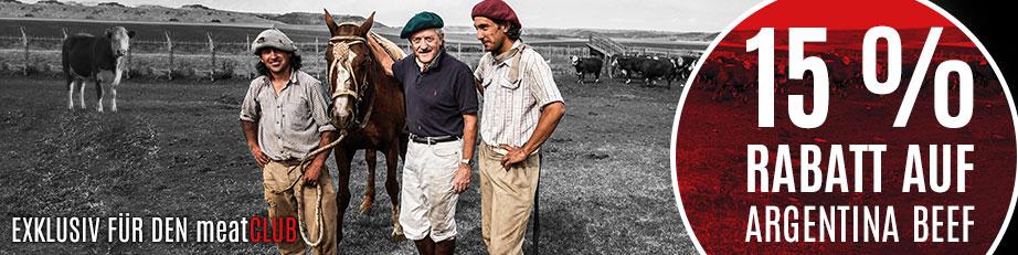 15 % Rabatt auf Argentina Beef